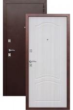 Дверь Входная Dominanta Медь Белый Ясень