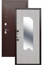 Дверь Входная Ampir Медь Белый Ясень