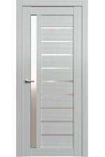 Дверь FONSECA 13, Ясень белый, Сатин