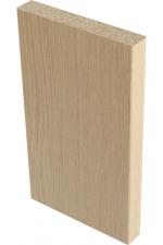 Наличник плоский Беленый Дуб 9,5*70*2150 мм.