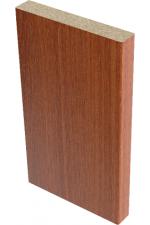 Наличник плоский Итальянский орех 9,5*70*2150 мм.